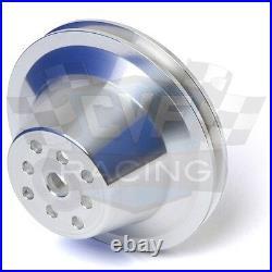 Aluminum Big Block Chevy SWP V-Belt Kit 396 427 454 BBC Alternator 1V Short