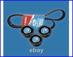 Belt & Pulley Kit for Mazda BT50 XT Ford Everest AU Ranger PX 2011-on 3.2L 5Cyl