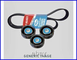 Belt & Pulley Kit for Mitsubishi Pajero (2000-2004) 3.5L NM NP V6 6G74 SOHC MPFI