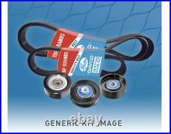 Belt & Pulley Kit for Mitsubishi Triton 2008-2011 ML MN 2.5L Turbo Diesel 4D56T