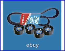 Belt & Pulley Kit for Toyota Hilux (2005-2009) 4.0L 1GR-FE GGN15/25 Pet