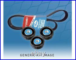 Belt & Pulley Kit for Toyota Hilux 3.0L TD 1KD-FTV KUN16R KUN26R 2005-2017