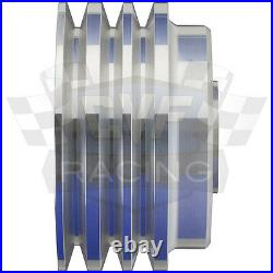 Big Block Chevy V-Belt Underdrive Kit 396 427 454 LWP AC ALT BBC 3V 2V AIR