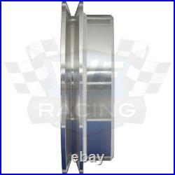 Big Block Ford Pulley Kit 429 460 BBF Underdrive 1 Groove V-Belt Billet Aluminum