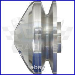 Billet Aluminum Ford V-Belt Pulley Kit 302 351W 351C 351M 400 Vintage A/C