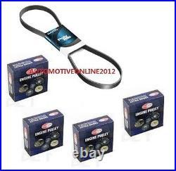 Dayco Belt & Nuline Pulley Kit for TOYOTA LANDCRUISER PRADO 4.0L V6 1GRFE GRJ120