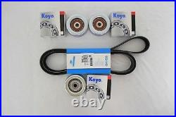 Drive Belt & Idler Pulley Kit Fits Toyota FJ Cruiser 2007-2009 V6 4.0L 1GRFE