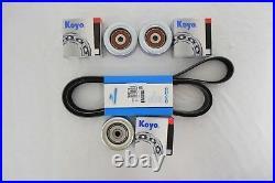 Drive Belt & Idler Pulley Kit V6 4.0L 1GRFE Fits Toyota 4Runner 03-09 V6 2GRFE