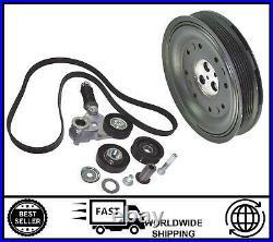 FITS FOR Ford Mondeo Mk3 2.0 2.2 TDDi TDCi 2000-2007 Crankshaft Pulley Kit