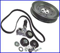 FITS FOR Jaguar X-TYPE CF1 2.0 2.2 D 2001-2009 Crankshaft Pulley KIT