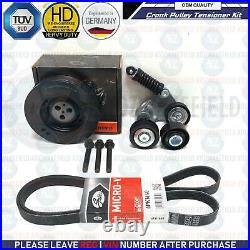 For X-type Mondeo Transit alternator crank shaft pulley drive belt tensioner kit