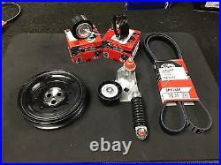Ford Mondeo Mk3 Tddi Tdci Altenator Belt Crankshaft Tensioner Kit Pulley Kit
