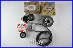 Genuine Lexus LS460 07-15 -Serpentine Drive Fan Belt Tensioner and Pulley Kit