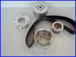 Holden 253 308 Billet Gilmer Kit 4.2 5.0 Power Steer Billet Pulley + Belt