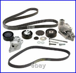 INA Accessory Drive Belt Tensioner Assembly Idler Pulley Kit For BMW E46 E39 E53