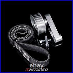 K-Tuned Adjustable EP3 Style Idler Pulley & Belt Kit FOR Civic Integra K20 Swap