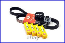 MINI Cooper S R52 R53 Supercharger Pulley Kit Belt Plugs KAVS 20% / NGK BCR8ES