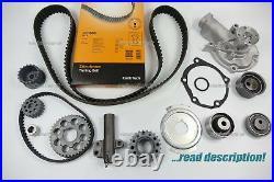 Mitsubishi Evo 4 5 6 7 Timing Belt Kit Hydraulic Tensioner Pulley Water pump