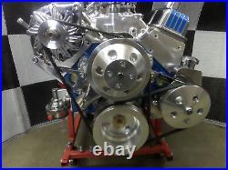 Sbc Turn Key Engine Dress Up Kit, Front Acc. Chrm Wp, Alt, Pulleys Complete Xo38