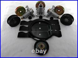 Sears Craftsman G5000 48 Lawn Mower Deck Parts Kit Spindles Blades Belt Pulleys
