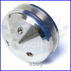 Small Block Ford V-Belt Pulley Kit 289 302 351W Early SBF Water Pumps, 3 Bolt