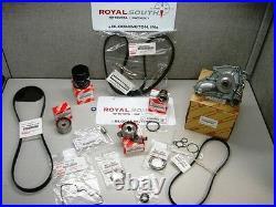 Toyota Camry 2.2L Timing Belt Water Pump Idler Roller Pulley Kit Genuine OE OEM