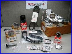 Toyota Sequoia 05-06 V8 Timing Belt Water Pump Tensioner Idler Kit Genuine OE