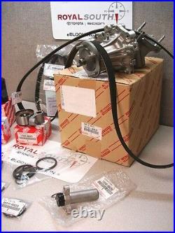 Toyota Supra Timing Belt Water Pump Tensioner Idler Pulley Kit Genuine OE OEM