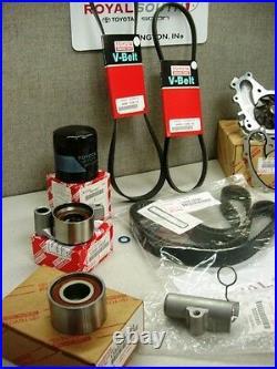 Toyota V6 Timing Belt Water Pump Tensioner Idler Pulley Kit Genuine OE OEM