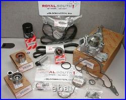 Toyota V8 4.7L Timing Belt Water Pump Tensioner Idler Pulley Kit Genuine OE OEM