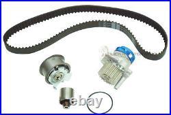 Vw Transporter T5 1.9d Timing Cam Belt Kit Tensioner Idler Pulley + Water Pump